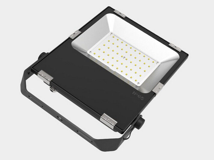 Shockproof SMD LED Flood Light With Aluminum Shell 50 Wattage 5000-6000lm