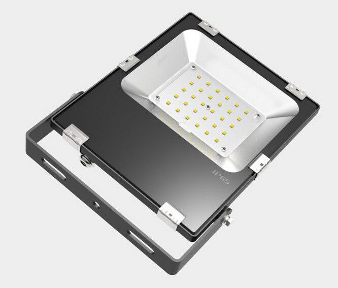 Industrial Outdoor Led Lighting: Wall Mounted Commercial Outdoor LED Flood Light Fixtures