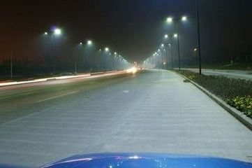 210W LED Street Light Replace Metal Halide Lighting Meanwell / Sosen Driver