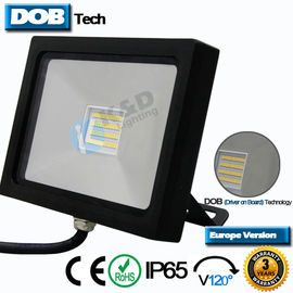 120LPW Efficiency Outdoor Wall Mounted Flood Lights ADC12 Aluminium LED Lighting