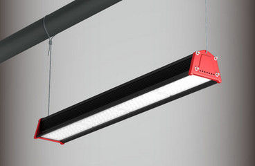 140Lm/W Efficiency LED Low Bay Lamp 5ft Durable Suspended Linear Type