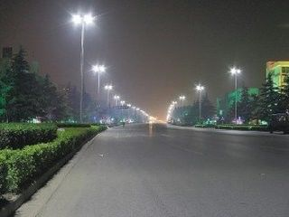 China Economic Modular LED City Street Lights 90W 9000lm With Natural Clean System factory