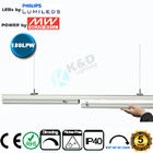 Connectable 4 Feet 50W Linear LED Light Fixtures Low Light Decay CE RoHS Listed